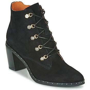 Schuhe Damen Low Boots Mam'Zelle NECLA Schwarz