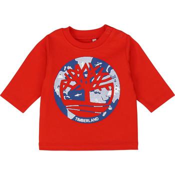 Kleidung Jungen Langarmshirts Timberland T95889 Rot