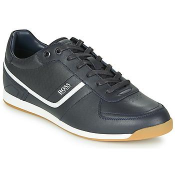 Schuhe Herren Sneaker Low BOSS GLAZE LOWP NAHB Marine