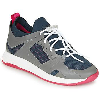 Schuhe Herren Sneaker Low BOSS TITANIUM RUNN  KNMX Grau