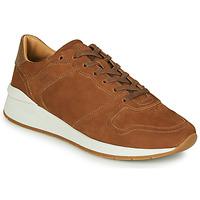 Schuhe Herren Sneaker Low BOSS ELMNT RUNN NUSF Cognac