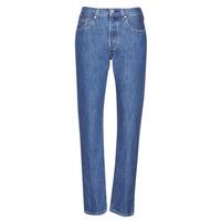Kleidung Damen Boyfriend Jeans Levi's 501 CROP Blau