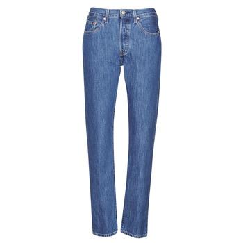 Kleidung Damen Boyfriend Jeans Levi's 501 CROP Sansome / Breeze