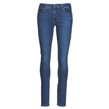 Kleidung Damen Röhrenjeans Levi's 711 SKINNY Blau