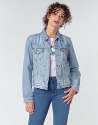 Kleidung Damen Jeansjacken Levi's ORIGINAL TRUCKER Mine