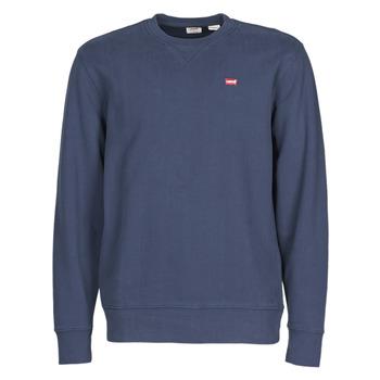 Kleidung Herren Sweatshirts Levi's NEW ORIGINAL CREW Blau