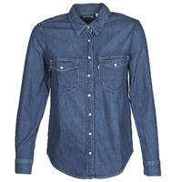 Kleidung Damen Hemden Levi's ESSENTIAL WESTERN Blau