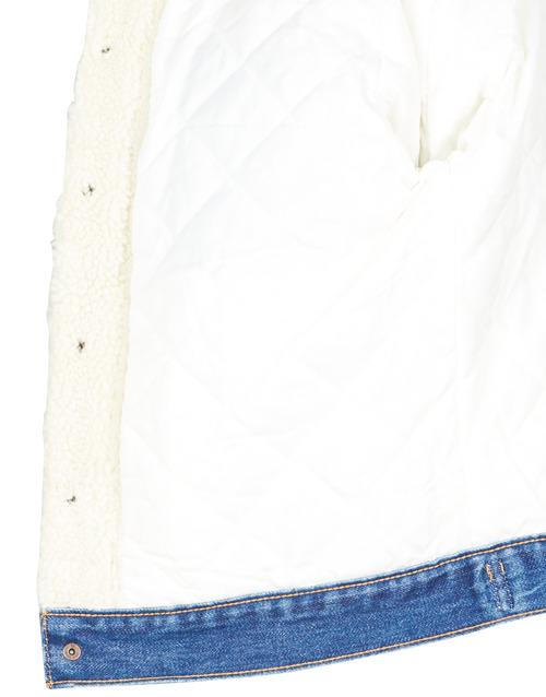 Levi's EX BF PIECED TRCKR Counting - Kostenloser Versand |  - Kleidung Jeansjacken Damen 14900 2uQyn