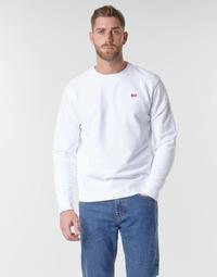 Kleidung Herren Sweatshirts Levi's NEW ORIGINAL CREW Weiss