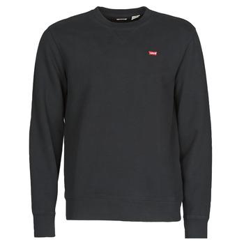 Kleidung Herren Sweatshirts Levi's NEW ORIGINAL CREW Schwarz
