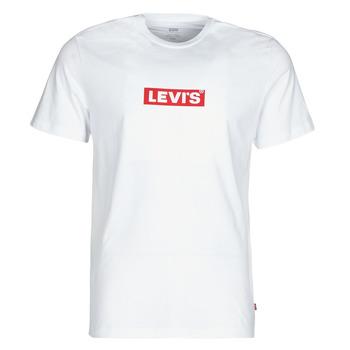 Kleidung Herren T-Shirts Levi's BOXTAB GRAPHIC TEE Weiss