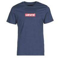 Kleidung Herren T-Shirts Levi's BOXTAB GRAPHIC TEE Blau