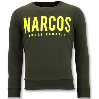 Kleidung Herren Sweatshirts Local Fanatic Narcos Grün