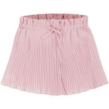Kleidung Mädchen Shorts / Bermudas Mayoral Falda pantalon plisada rosa