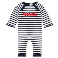 Kleidung Jungen Overalls / Latzhosen Carrément Beau Y94188 Multicolor