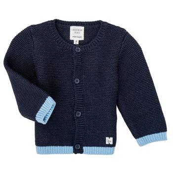 Kleidung Mädchen Strickjacken Carrément Beau Y95230 Blau