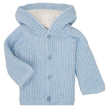 Kleidung Jungen Mäntel Carrément Beau Y96053 Blau