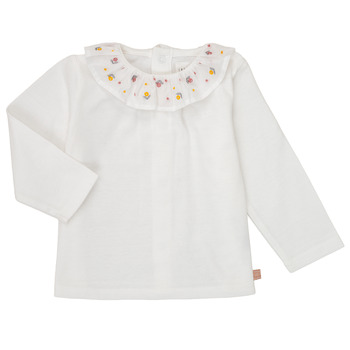 Kleidung Mädchen Langarmshirts Carrément Beau Y95244 Weiss