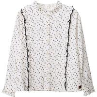 Kleidung Mädchen Tops / Blusen Carrément Beau Y15356 Weiss