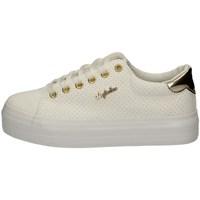 Schuhe Damen Sneaker Low Australian AU857 WEISS