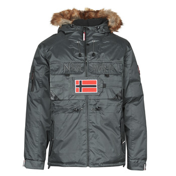 Kleidung Herren Parkas Geographical Norway BENCH Grau