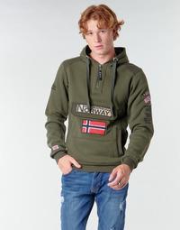 Kleidung Herren Sweatshirts Geographical Norway GYMCLASS Kaki