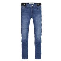 Kleidung Mädchen Röhrenjeans Calvin Klein Jeans IG0IG00639-1A4 Blau