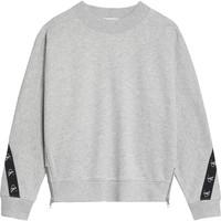 Kleidung Mädchen Sweatshirts Calvin Klein Jeans IG0IG00687-PZ2 Grau