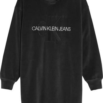 Kleidung Mädchen Kurze Kleider Calvin Klein Jeans IG0IG00711-BEH Schwarz