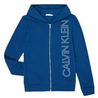 Kleidung Jungen Sweatshirts Calvin Klein Jeans IB0IB00668-C5G Blau