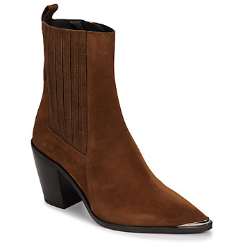 Schuhe Damen Low Boots Jonak BASAMA Braun
