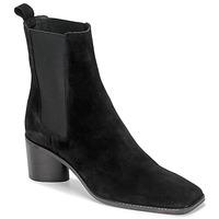 Schuhe Damen Low Boots Jonak BERGAMOTE Schwarz