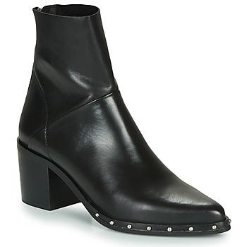 Schuhe Damen Low Boots Jonak DACCA Schwarz