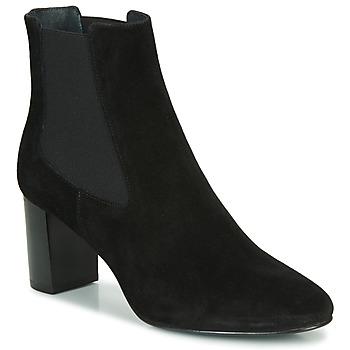 Schuhe Damen Low Boots Jonak DAMOCLE Schwarz