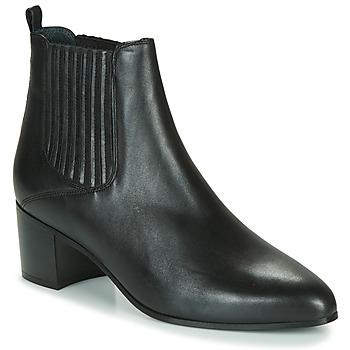 Schuhe Damen Low Boots Jonak DEBINA Schwarz