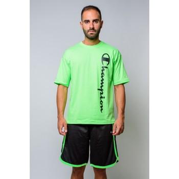 Kleidung Herren T-Shirts Champion T-shirt mit Rundhalsausschnitt 214233 Grün