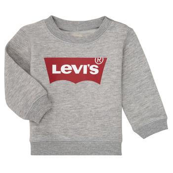 Kleidung Jungen Sweatshirts Levi's BATWING CREW Grau