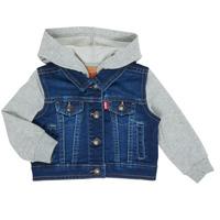 Kleidung Jungen Jeansjacken Levi's INDIGO JACKET Blau
