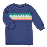 Kleidung Mädchen Kurze Kleider Levi's SWEATSHIRT DRESS Blau