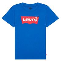 Kleidung Jungen T-Shirts Levi's BATWING TEE Blau
