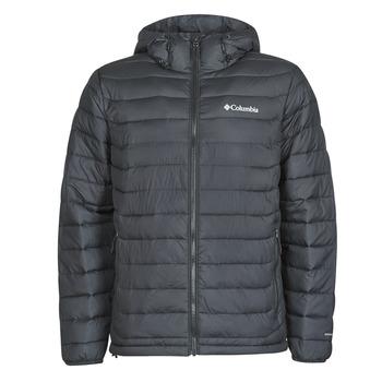 Kleidung Herren Daunenjacken Columbia POWDER LITE HOODED JACKET Schwarz