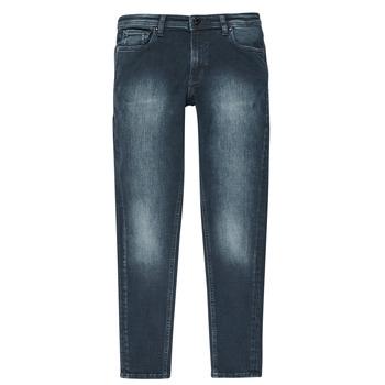 Kleidung Jungen Slim Fit Jeans Jack & Jones JJILIAM Blau