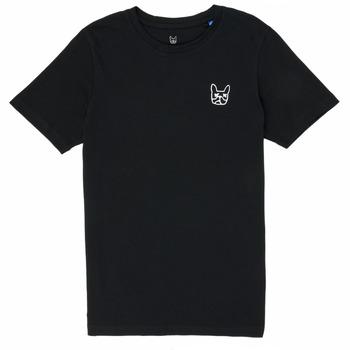 Kleidung Jungen T-Shirts Jack & Jones JJAARHUS TEE Schwarz
