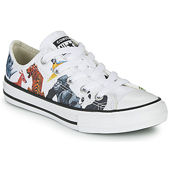 Schuhe Kinder Sneaker Low Converse Chuck Taylor All Star - Science Class Weiss / Multicolor