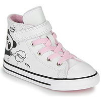 Schuhe Mädchen Sneaker High Converse Chuck Taylor All Star 1V - Notes from BFF Weiss