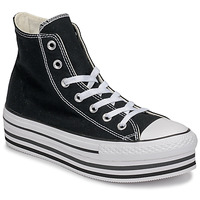 Schuhe Damen Sneaker High Converse CHUCK TAYLOR ALL STAR PLATFORM EVA LAYER CANVAS HI Schwarz