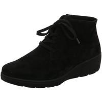 Schuhe Damen Boots Semler Stiefeletten H weite schwarz