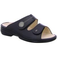 Schuhe Damen Pantoletten / Clogs Finn Comfort Pantoletten Sansibar 2550-014099 schwarz