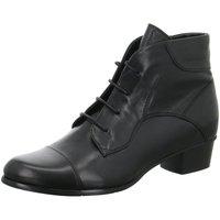 Schuhe Damen Boots Regarde Le Ciel Stiefeletten 003 BLACK STEFANY 123 schwarz