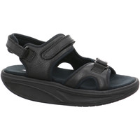 Schuhe Damen Sandalen / Sandaletten Mbt Sandaletten KISUMU 3S W 700366-03 schwarz